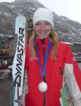 Emilie Favre, vice championne du monde espoir individuel 2010