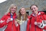Les jeunes médaillés course individuelle championnat du monde 2010