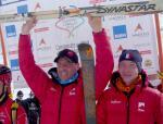 Florent Perrier et Didier Blanc, champions du monde par équipe 2010