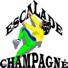 logo CLUB ESCALADE DE CHAMPAGNE