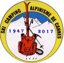 logo SKI CAMPING ET ALPINISME DE CANNES