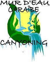 logo MUR D'EAU CARAIBE CANYONING