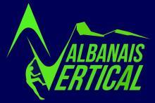 logo ALBANAIS VERTICAL