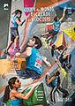 Poster coupe du monde d'escalade de bloc 2015