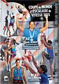 Poster coupe du monde d'escalade de vitesse 2015